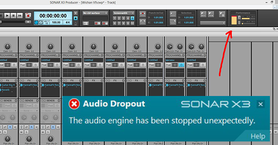 audio dropou22t