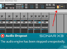 Sonar Audio Dropout